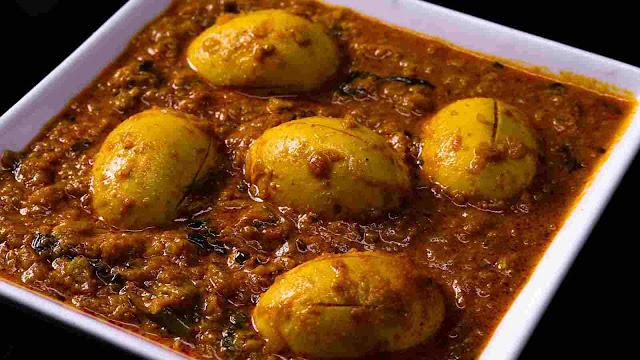 Egg Gravy recipe restaurant-style   How to make Egg Curry