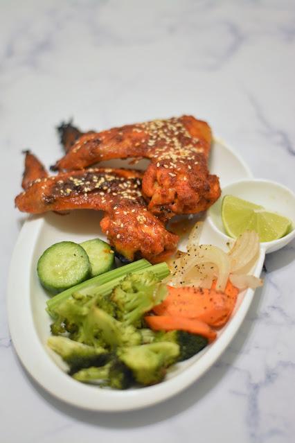 Sweet spicy chicken wings recipe