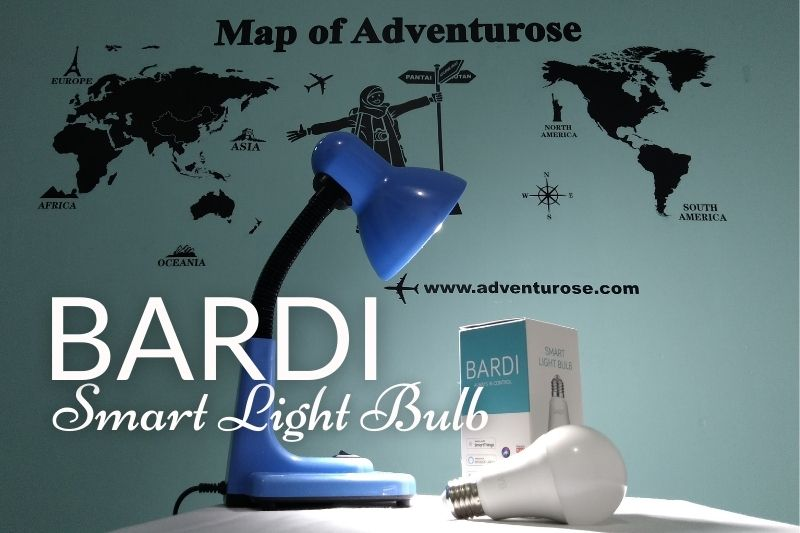 Bardi smart light bulb
