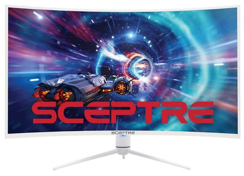 Sceptre C408B-QWN168W QHD Curved Gaming Monitor