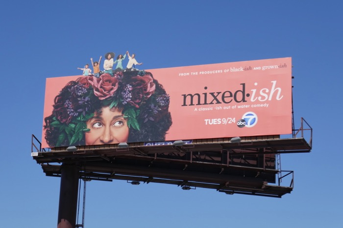 Mixedish series premiere billboard