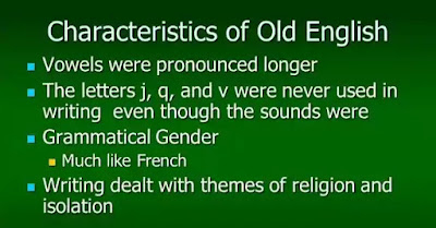 The primary characteristic of the Anglo-Saxon language derives from the predominance of its consonants.