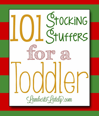 This is a great collection of some of the best stocking stuffer ideas for a toddler or preschooler - lots of educational and practical ideas!  Great for 1-5 years old and has ideas for both boys and girls.