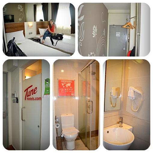 Tune Hotel Liverpool Towels: Tune Hotel JB & Odyssey Bus