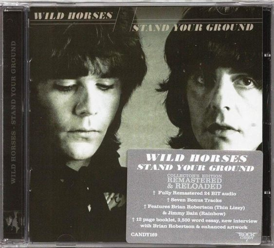 WILD HORSES - Stand Your Ground [Rock Candy remastered +7] full