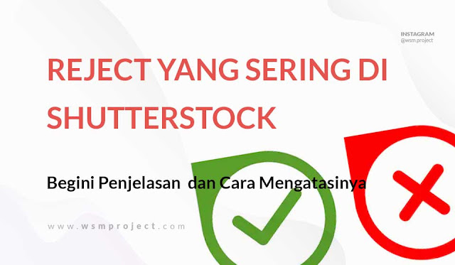 Cara mengatasi Reject Upload di Shutterstock