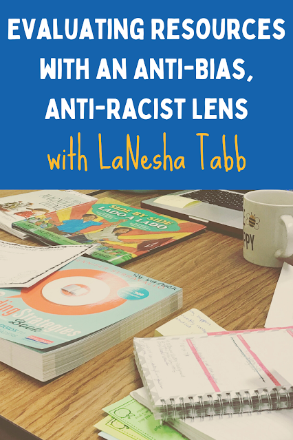 The classroom resources we use shape our students' understanding of the world. Author and educator LaNesha Tabb joins me to discuss evaluating materials using an anti-bias and anti-racist lens. We chat about finding books that are inclusive and accurate. Listen for ideas to get the entire school community on board.