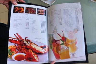 oyster bay seafood restaurant menu