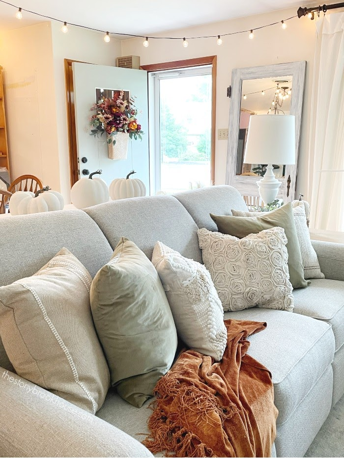 Fall living room couch