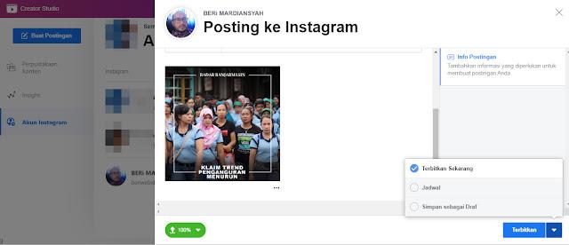 Dengan tool ini, pengguna yang menggunakan akun bisnis, bisa menjadwalkan unggahan konten di Instagram tanpa harus menggunakan aplikasi pihak ketiga.