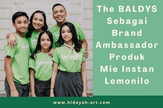 The BALDYS sebagai Brand Ambassador Produk Mie Instan Lemonilo