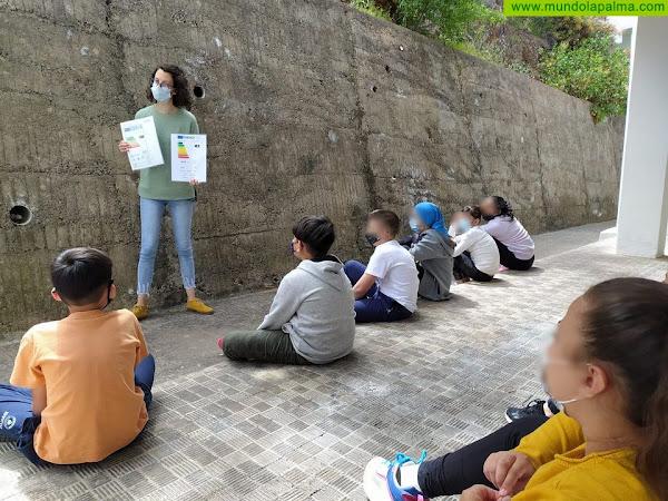 Los alumnos del CEO Tijarafe aprenden a respetar y cuidar el medio ambiente