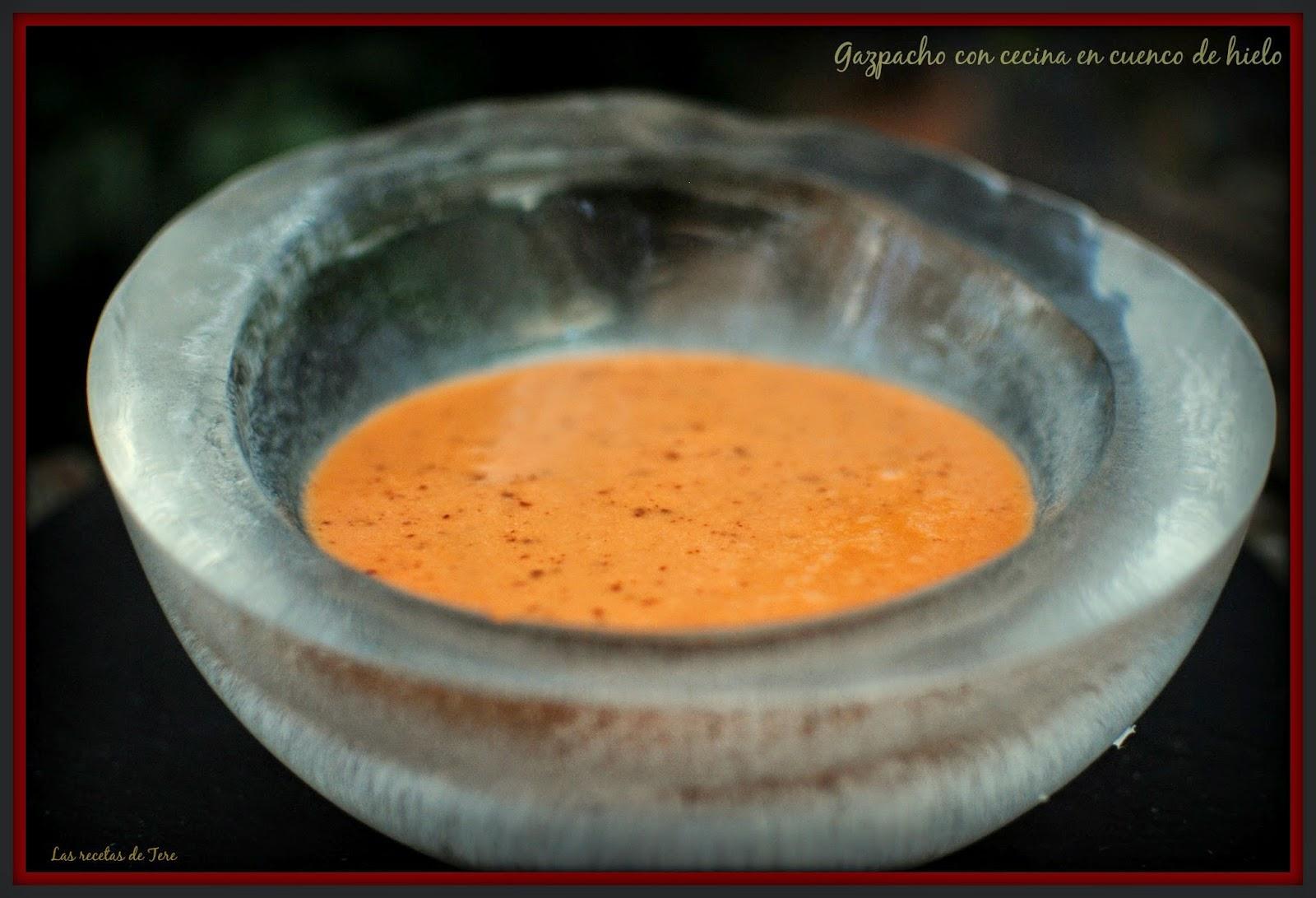 gazpacho con cecina en cuenco de hielo 02