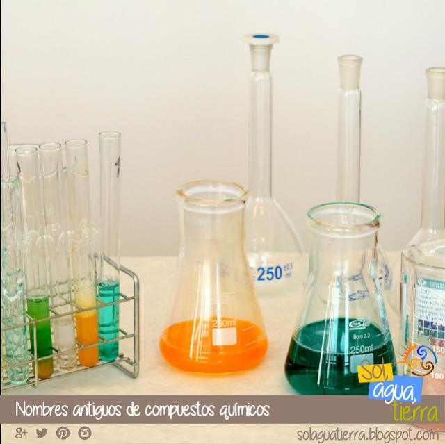 ¿Sabes que compuesto químico se conocía antiguamente como Azúcar de Saturno, Blanco de España, Espíritu de vino o Piedra infernal? En este artículo del blog os dejo una lista de las sustancias químicas conocidas anteriormente como...