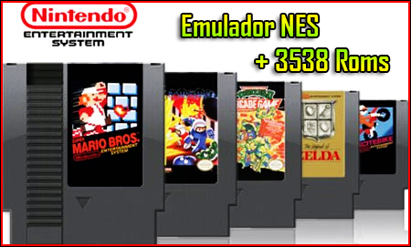 Descargar Emulador NES + 3538 ROMS [PC] [Full] [1-Link] [Portable] Gratis [MEGA]