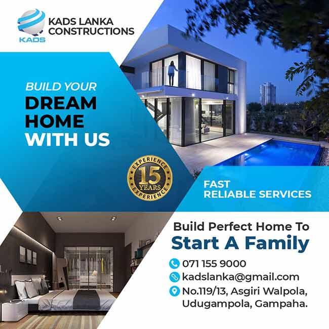 KADS Lanka - Build your dream Home with us.