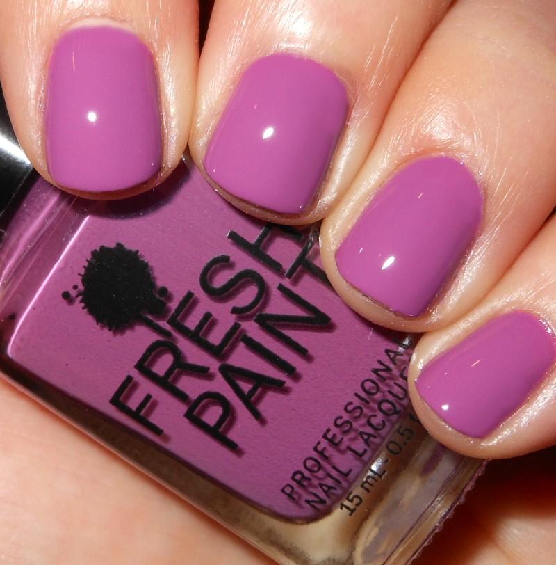 Imperfectly Painted: Fresh Paint Purple Rain
