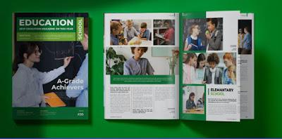 contoh booklet sekolah