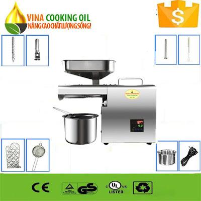 máy ép dầu thực vật thái lan