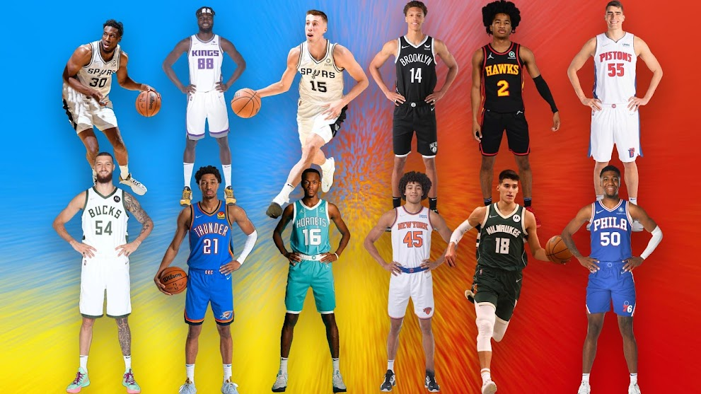 NBA 2K22 All 2021-2022 Rookies Full Body Portraits by Final Curtain