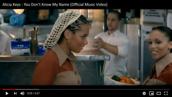 Alicia Keys; No One; Video; Youtube