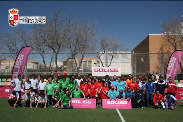 foto de familia de participantes y autoridades del Partido Centro ocupacional Valenzana. IMAGENES COMUNICACION ILLESCAS