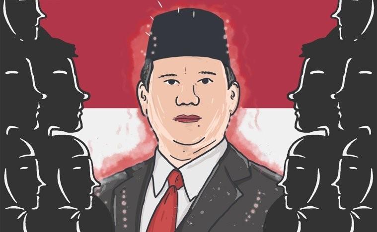 Prabowo : Dulu Terjun Bebas Di Medan Laga, Kini Di Medan Politik