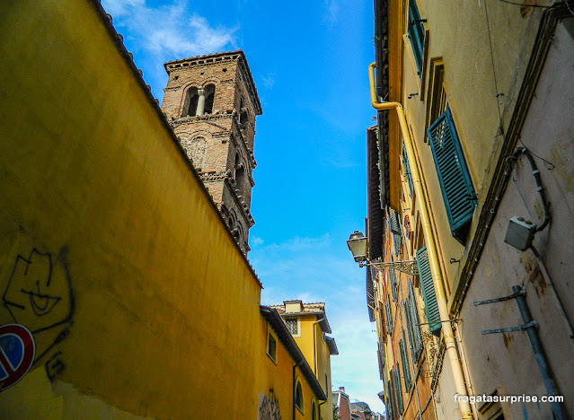 Beco do Trastevere, Roma