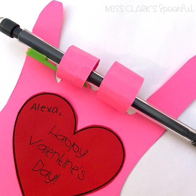 homemade teacher valentines