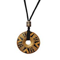 Символ Джйештхи (круглый оберег)