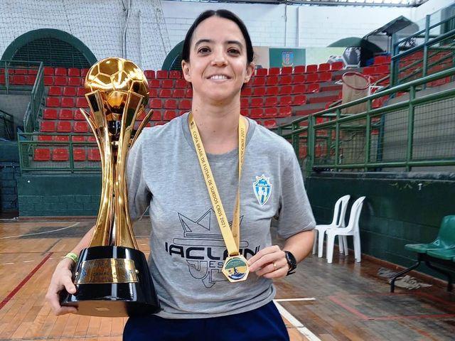 Registrense é campeã da Copa do Brasil de Futsal para surdos