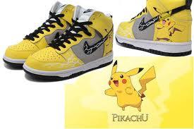 2f55a7039da35 Dunk Pokemon Pikachu Hightops