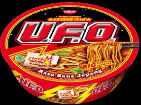 Nissin Ufo Mie Ramen Instan Halal Dari Nissin Dunia Qtoy