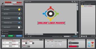 Lalu gunakan tool online tersebut yang sudah ada atau yang tersedia untuk mengedit logo yang anda inginkan.
