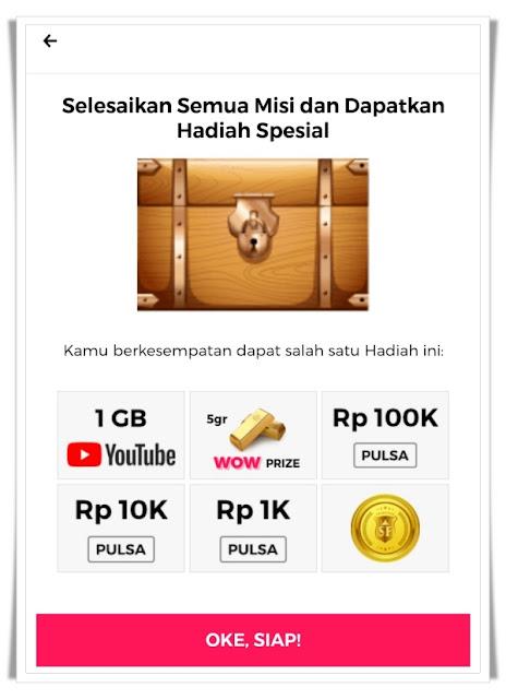 Hadiah Smartfren Rejeki WOW Treasure Hunt