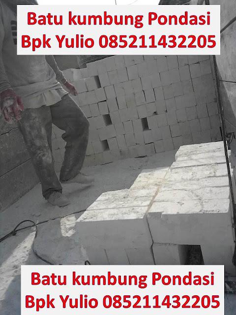 Pilih penjual dengan layanan jenis batu kumbung pondasi yang ukurannya beragam