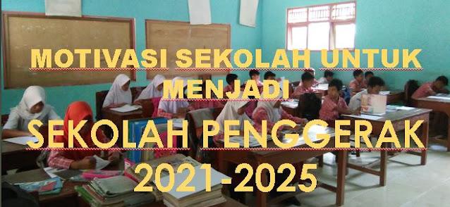 Motivasi Sekolah Untuk Menjadi Sekolah Penggerak 2021-2025