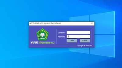 Download Aplikasi Rapor Excel v2.3 SMP/MTs Singkron ARD Terbaru
