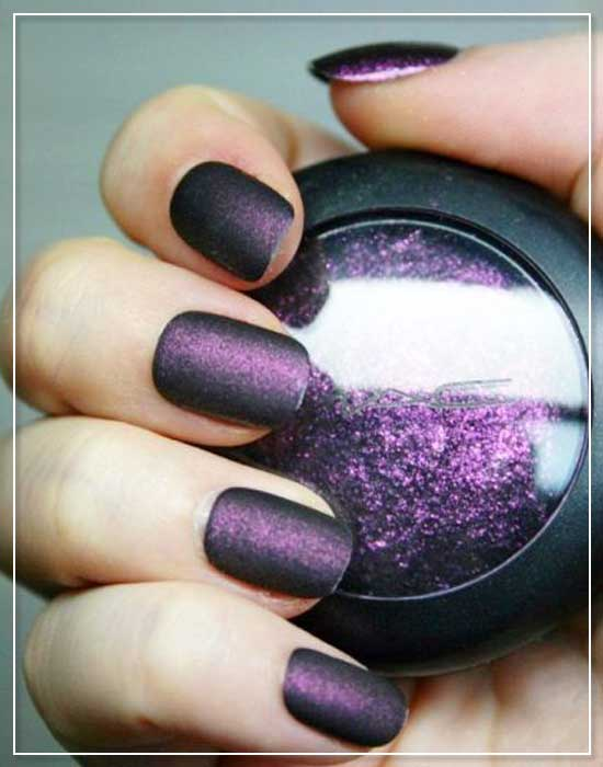 Eye Shadow Nail Designs
