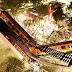 Momento exacto del desplome de un puente de metro con un tren en marcha en Ciudad de México