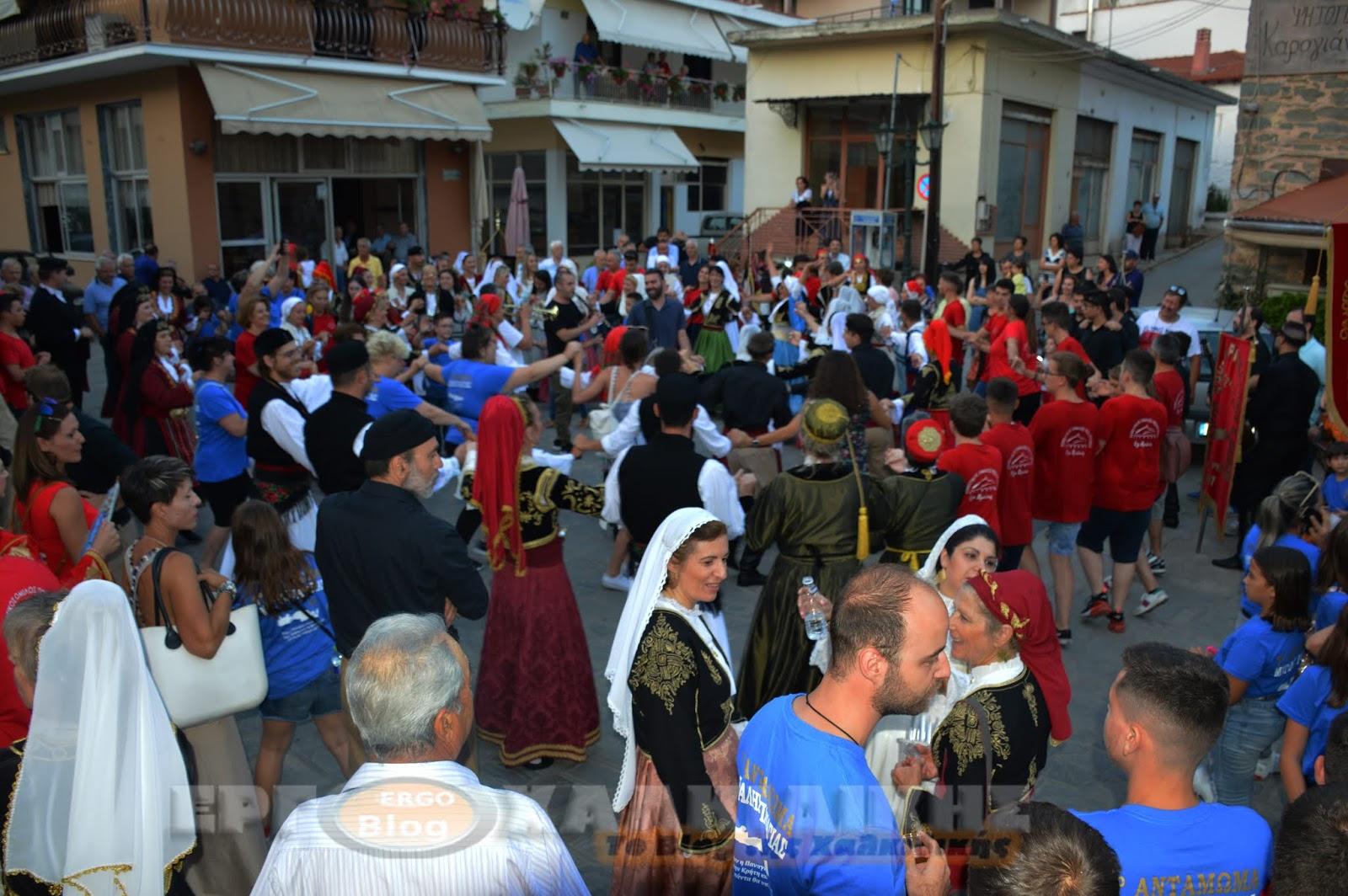 7ο Αντάμωμα Χορευτικών Συλλόγων Μακεδονίας - Κρήτης (βίντεο)