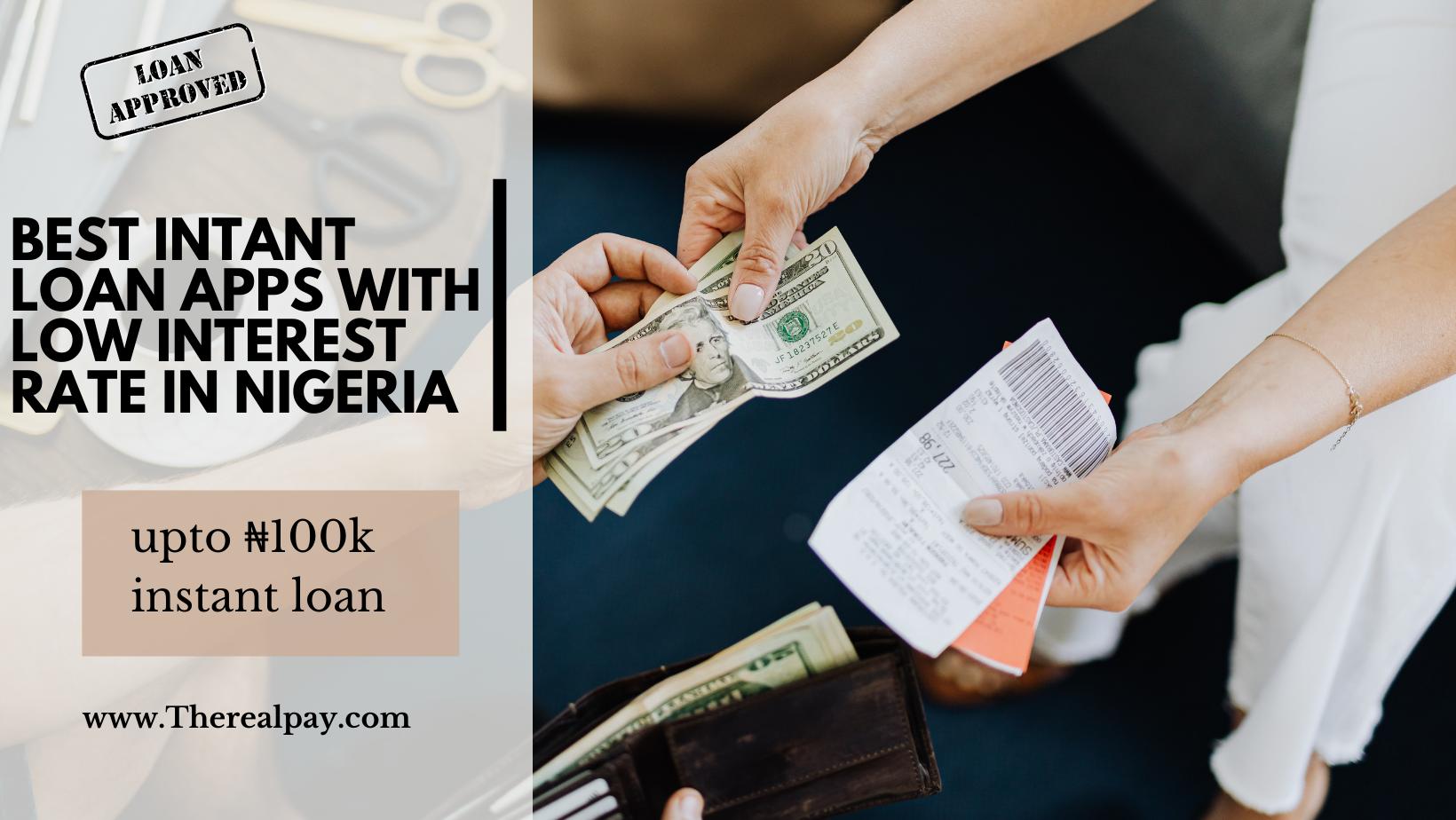 instant loan apps nigeria