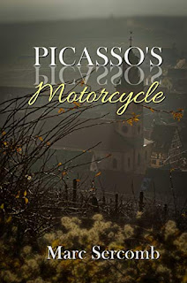 Picasso's Motorcycle -- historical fiction book promotion Marc Sercomb