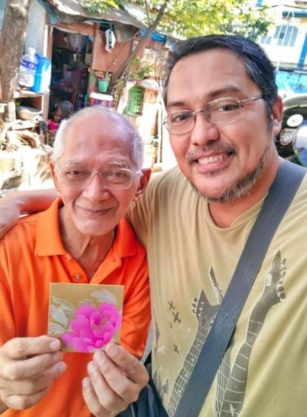 Senior citizen Lolo Bong online concert
