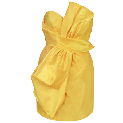 moschino couture bow dress