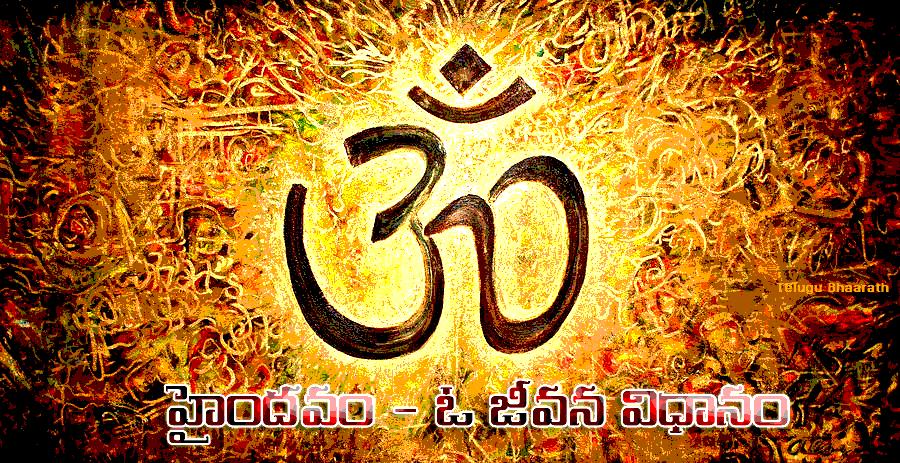 హైందవం.. ఓ జీవన విధానం - Hinduism - The way of life