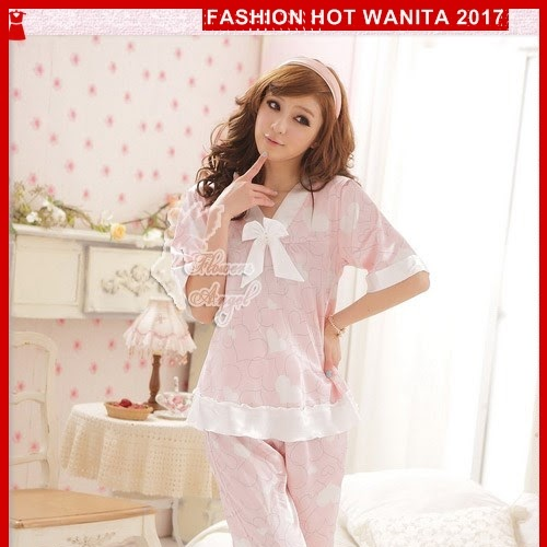 FWS147 Sleepwear Setelan Pendek 34 Berkualitas Celana