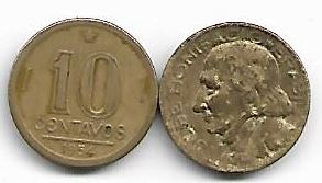 10 centavos, 1954