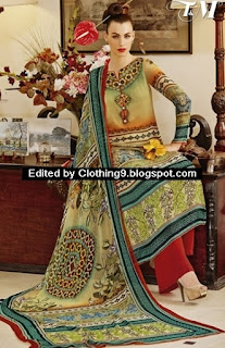 Lawn Palazzo Suits in Pakistan