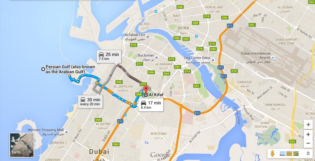 UAE Dubai Metro City Streets Hotels Airport Travel Map Info: Zabeel Park Dubai Map - Dubai ...